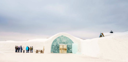Buz Otel İceHotel isveç laponya