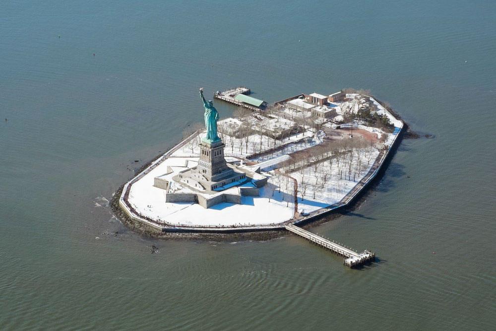 New York kar özgürlük anıtı