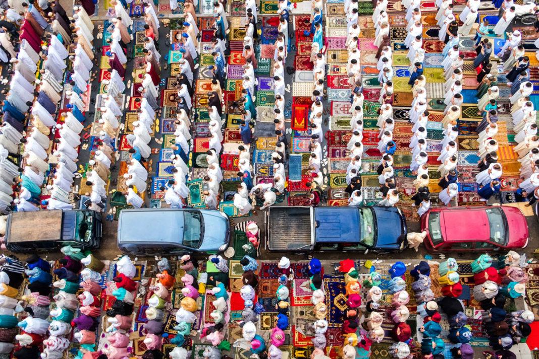 Kazablanka cami namaz