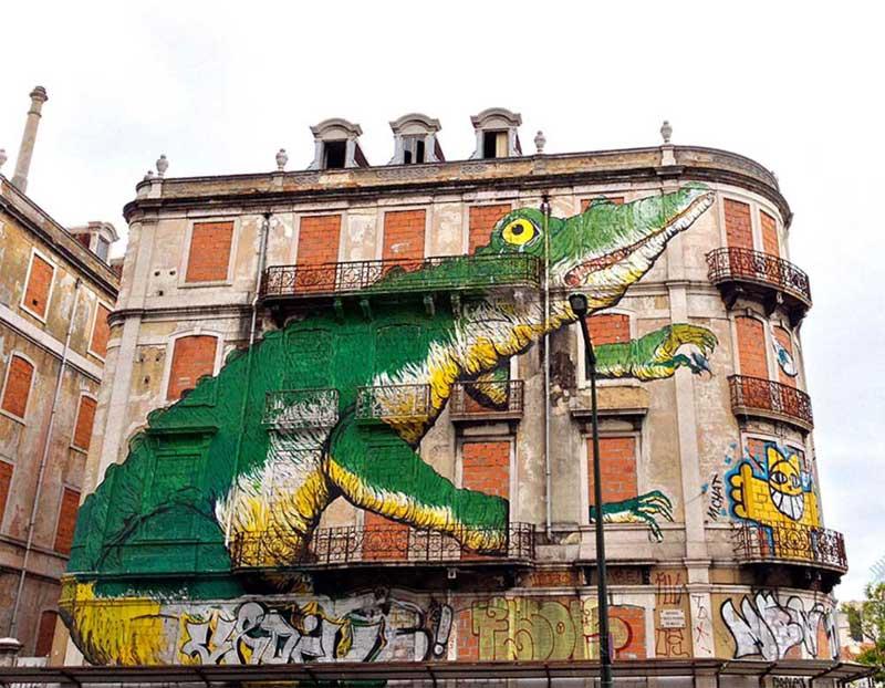 Altı kentten 18 sokak sanatı şaheseri [Galeri]