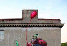 sokak sanatı lodz polonya
