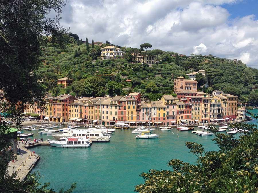 İtalyan kasabası Portofino