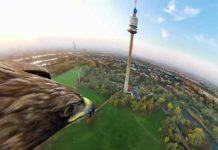 kartalık gözünden 360 derece Viyana