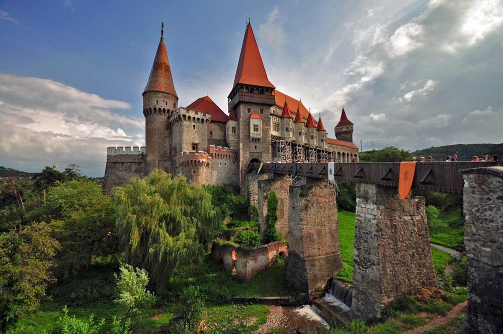 Romanya şato