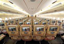 Emirates uçak kabin