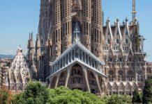 Bitmeyen kilise La Sagrada Familia