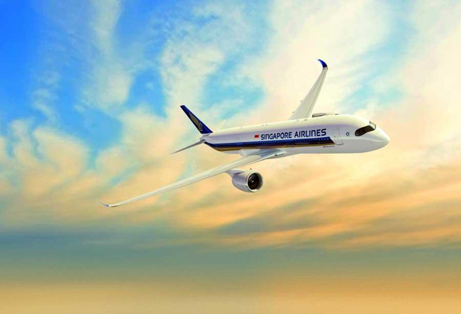 en uzun uçuş Singapore Airlines