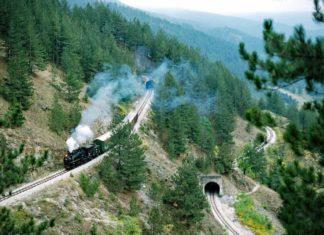 Sırbistan sekiz tren yolu