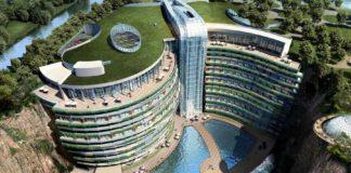şanghay yeraltı oteli intercontinental