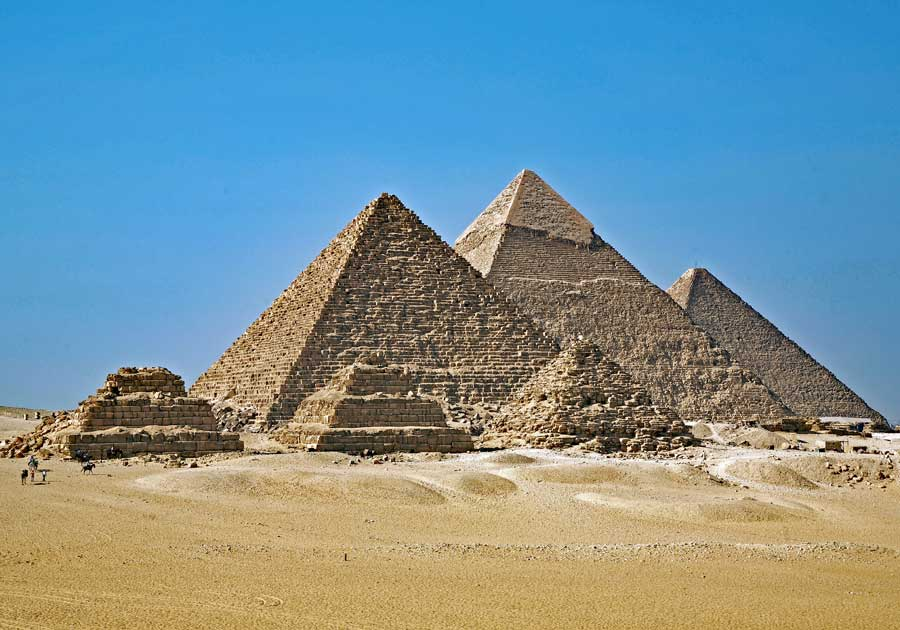 Mısır Piramitleri 'asansör' kullanılarak yapılmış olabilir