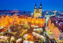 Prag Noel pazarı
