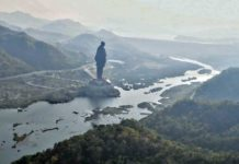 en büyük heykel Serdar Patel Hindistan
