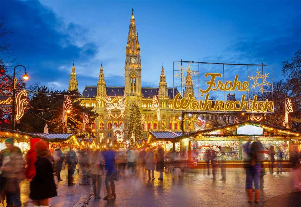 Viyana Noel pazarı