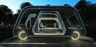 sürücüsüz karavan