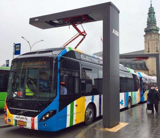 Lüksemburg toplu taşıma tramvay