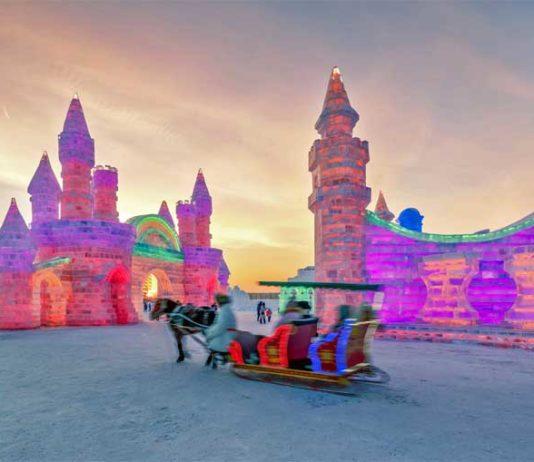 çin buz ve kar festivali