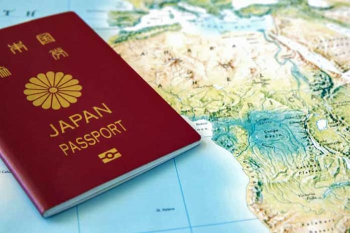 güçlü pasaportlar Japon Türk pasaportu