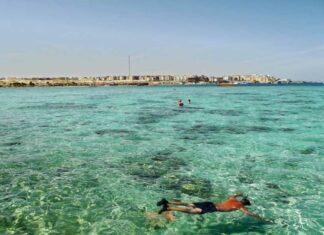 mısır rus turist plaj hurgada