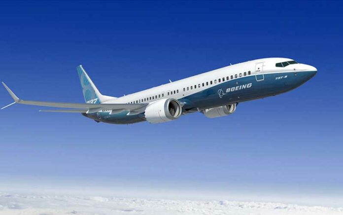 Boeing 737 Max 8 yolcu uçağı