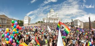 Finlandiya Helsinki pride