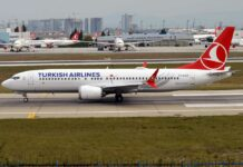 Boeing 737 Max 8 turkish airlines yurt dışı ABD uçuşları