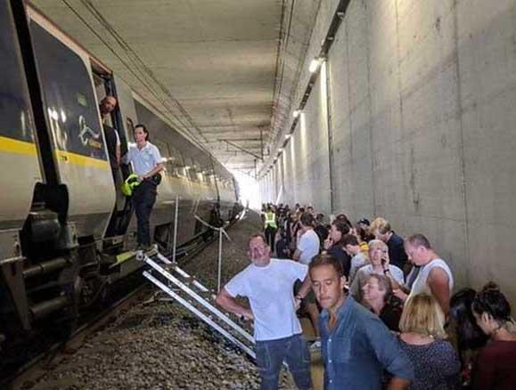 aşırı sıcak belçika tren