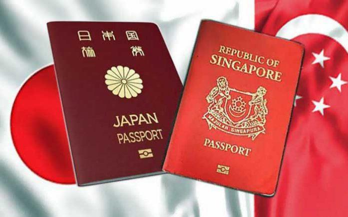 Japonya singapur en güçlü pasaportlar