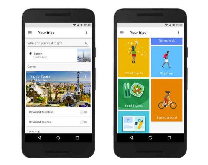 Google Trips uygulaması kapandı