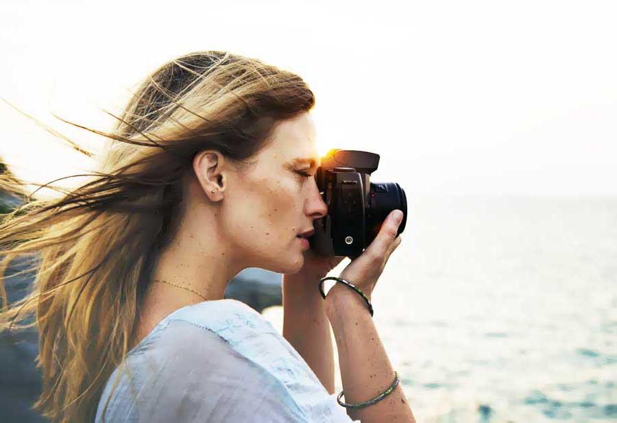 kadın gezgin fotoğraf