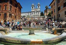 İspanyol Merdivenleri Roma İtalya
