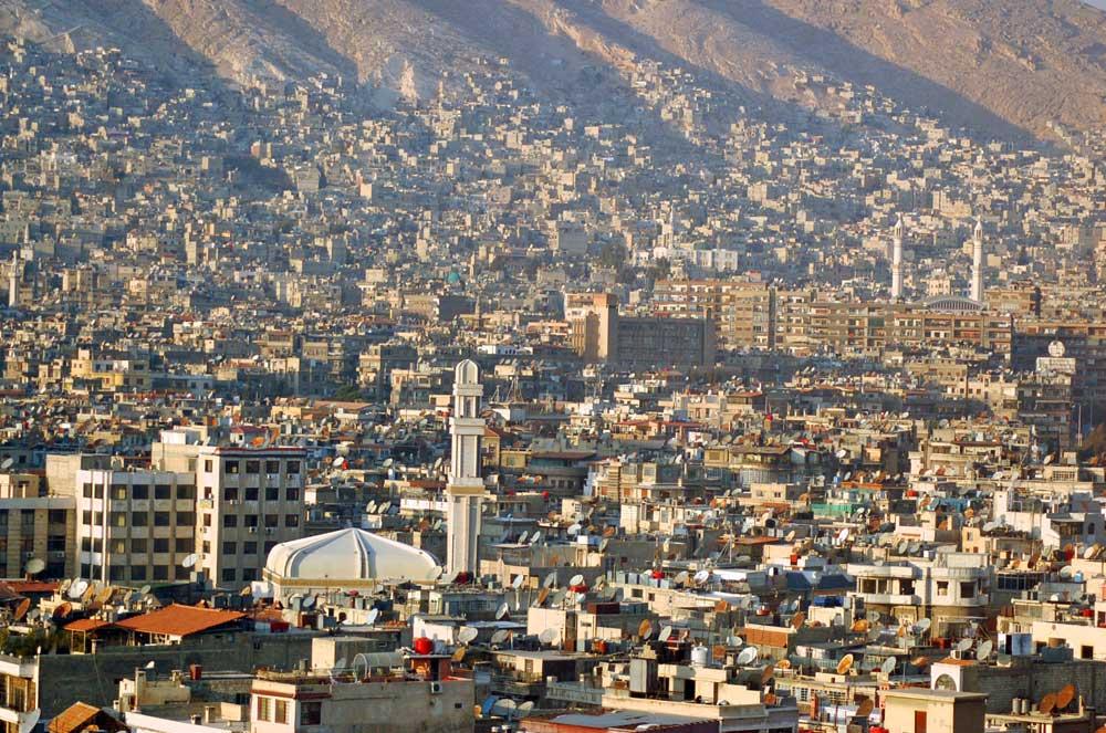 Şam Suriye Batılı turizm
