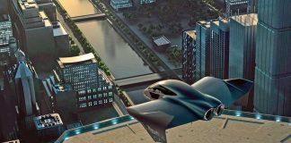 uçan otomobil boeing porsche