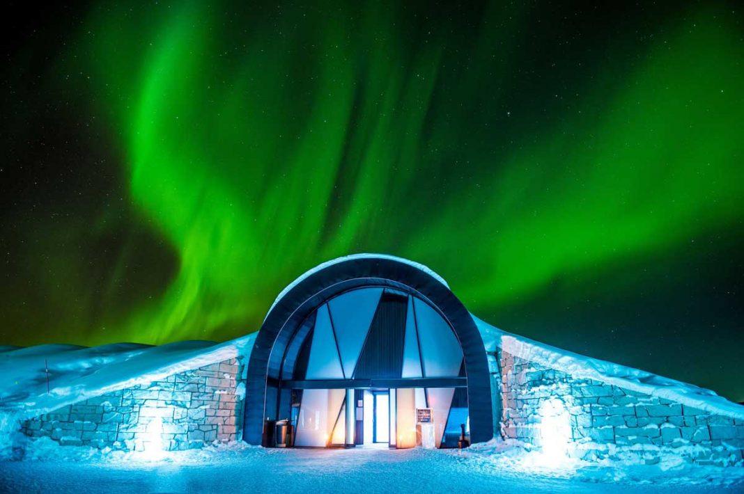 buz otel Icehotel İsveç