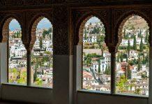 Albayzin El Hamra Sarayı Granada İspanya