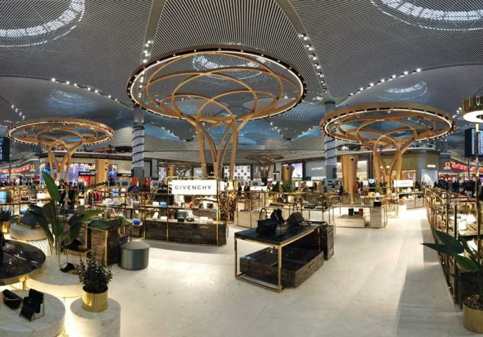 ATÜ duty free luxury square