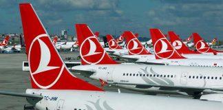 Sabiha Gökçen Havalimanı Türk Hava Yolları uçak büyükşehire dış hat uçuşları