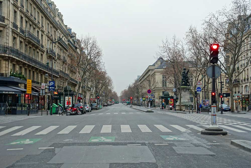 Paris sokakları Turizm başkentleri