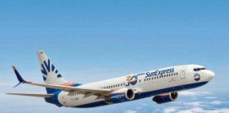 SunExpress iç hatlar dış hatlar uçak