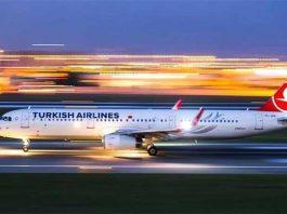 THY turkish airlines yurt dışı uçak bileti