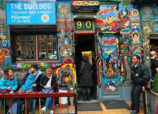 Amsterdam esrar kafe