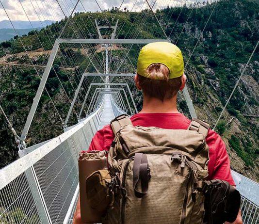 aruoca asma yaya köprüsü portekiz turist gezgin macera turizmi